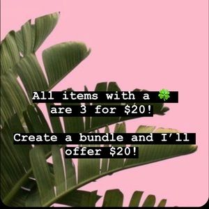 🍀3 for $20!🍀